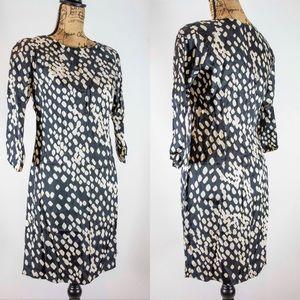 Banana Republic Silk Polka Dot Dress
